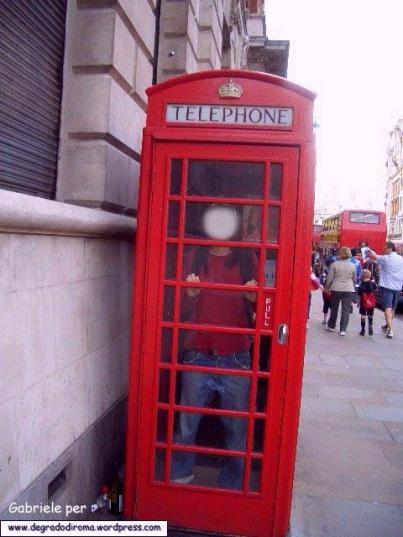Londra - Cabinatelefonica