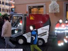 Servizio di pulizia in Via Condotti