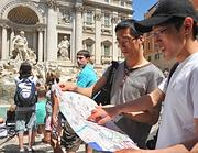 TURISTI GIAPPONESI A ROMA